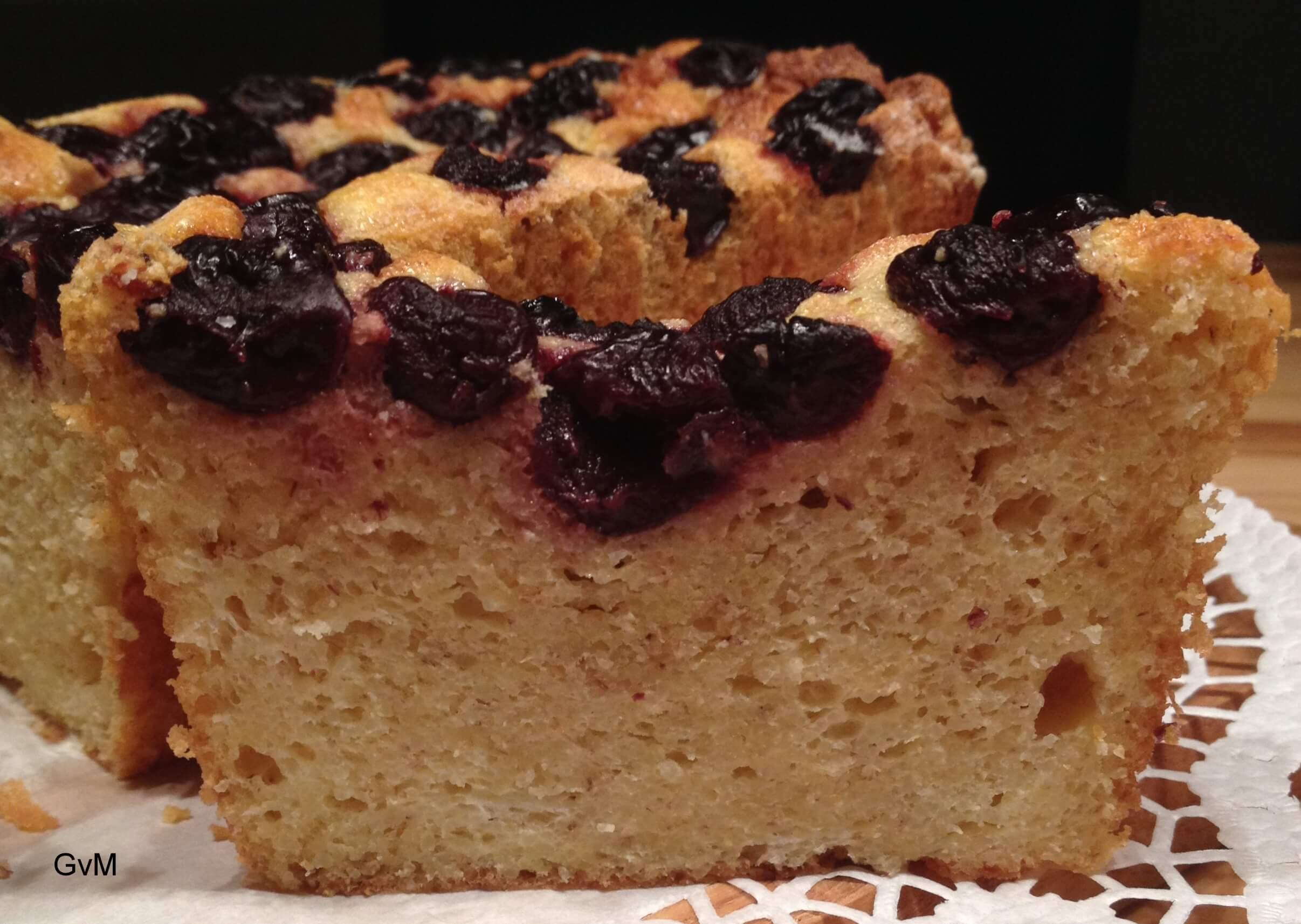 Griess Kirschen Kuchen Gudrun Von Modling